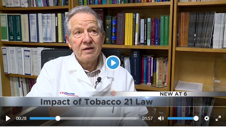 Dr. Michael Fiore speaks to Channel 27 News