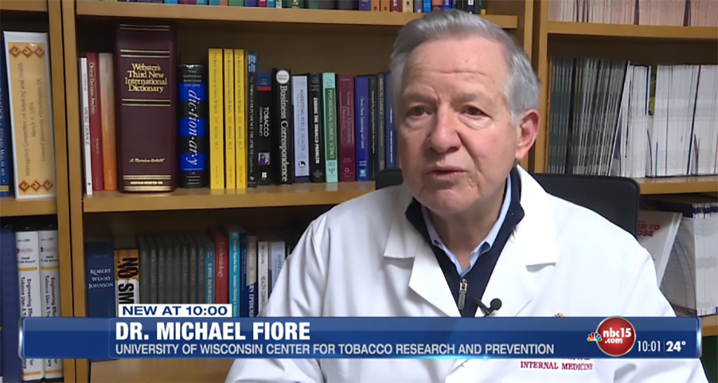 Dr. Michael Fiore discusses Tobacco 21 law
