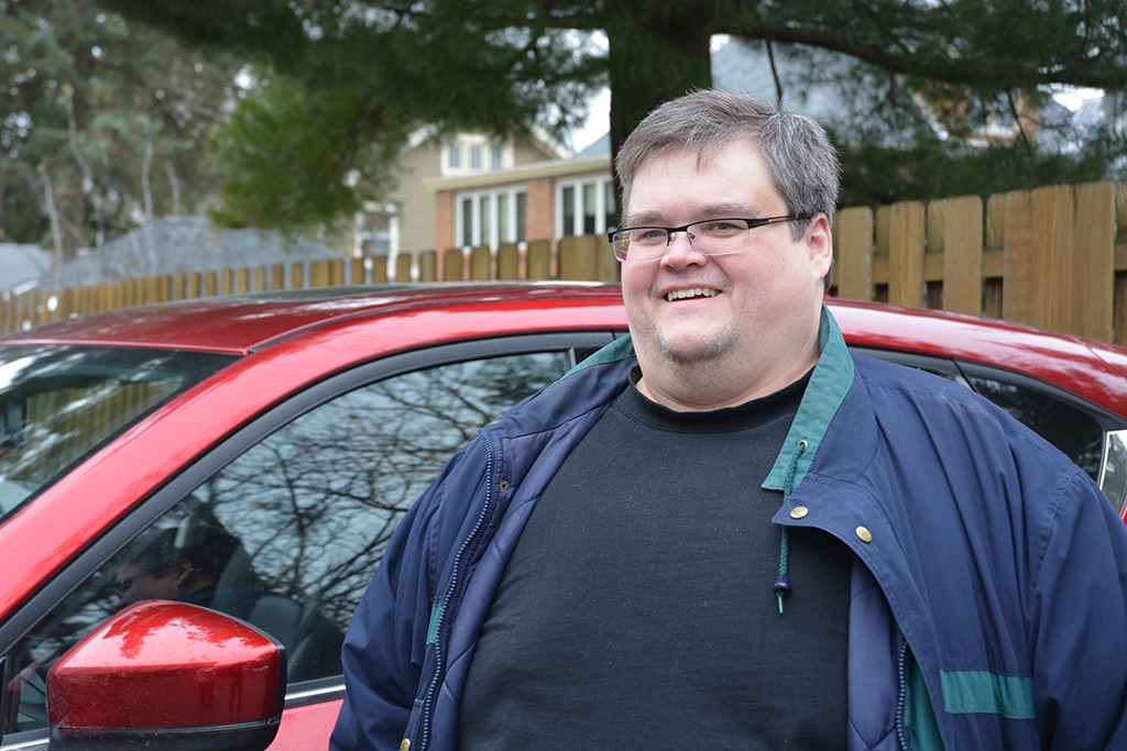 Richard saved money by quitting smoking, and this helped him buy new hot wheels.