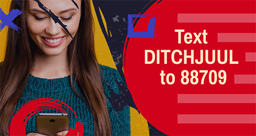 Text DITCHJUUL to 88709