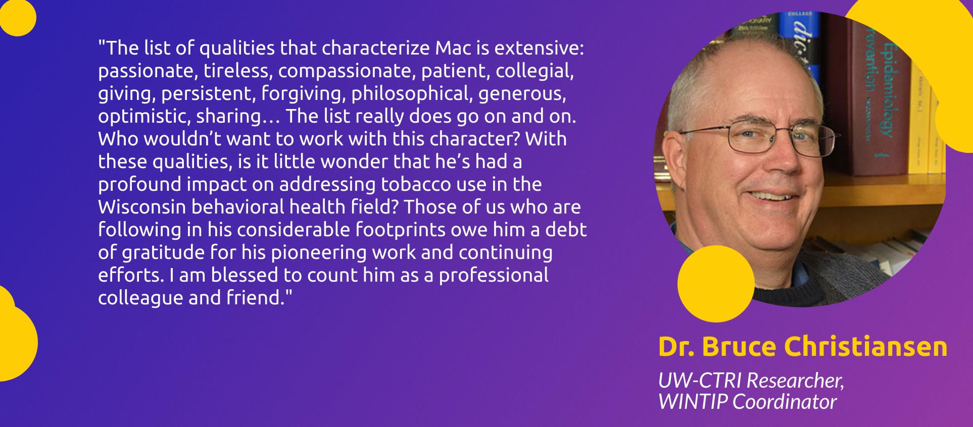 Dr. Bruce Christiansen