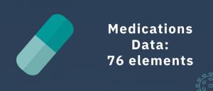 Meds data - 76 elements