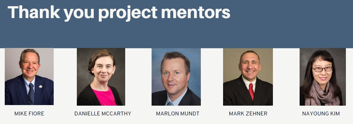In addition to McCarthy, Mundt and Fiore, these mentors include UW-CTRI researchers Mark Zehner and Dr. Nayoung Kim. UW-CTRI Director of Biostatistical Operations Dr. Stevens Smith (left) also serves as Zwaga's supervisor and general mentor.