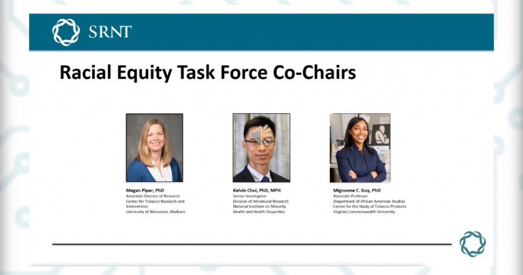 SRNT Racial Equity Task Force