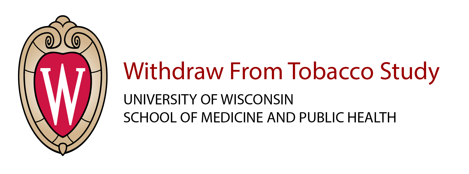Withdraw From Tobacco logo