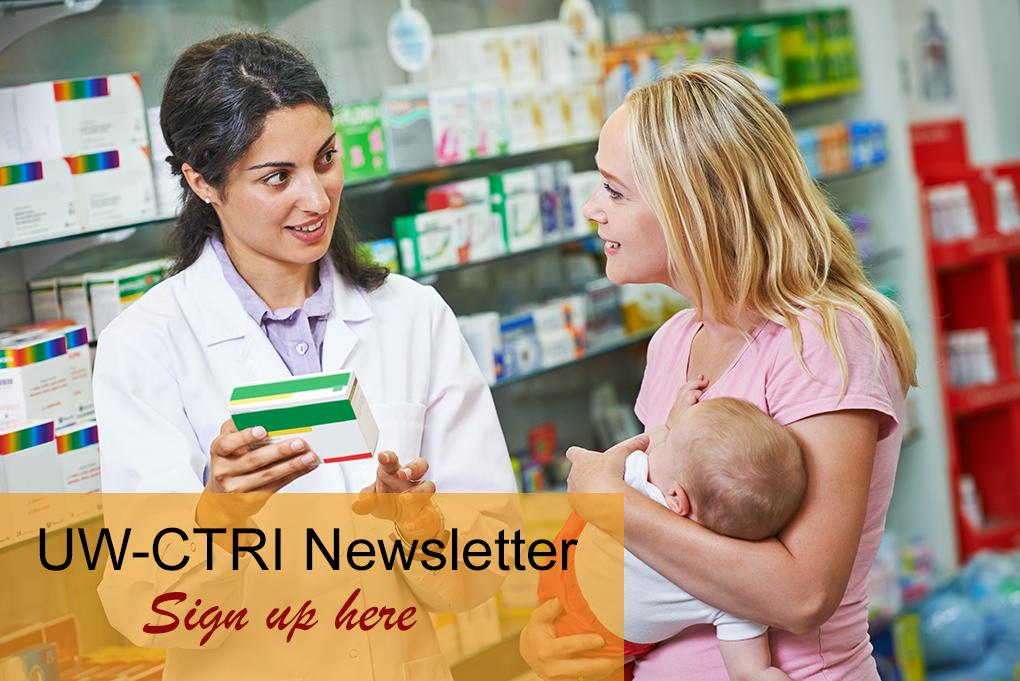 Sign up for UW-CTRI newsletter