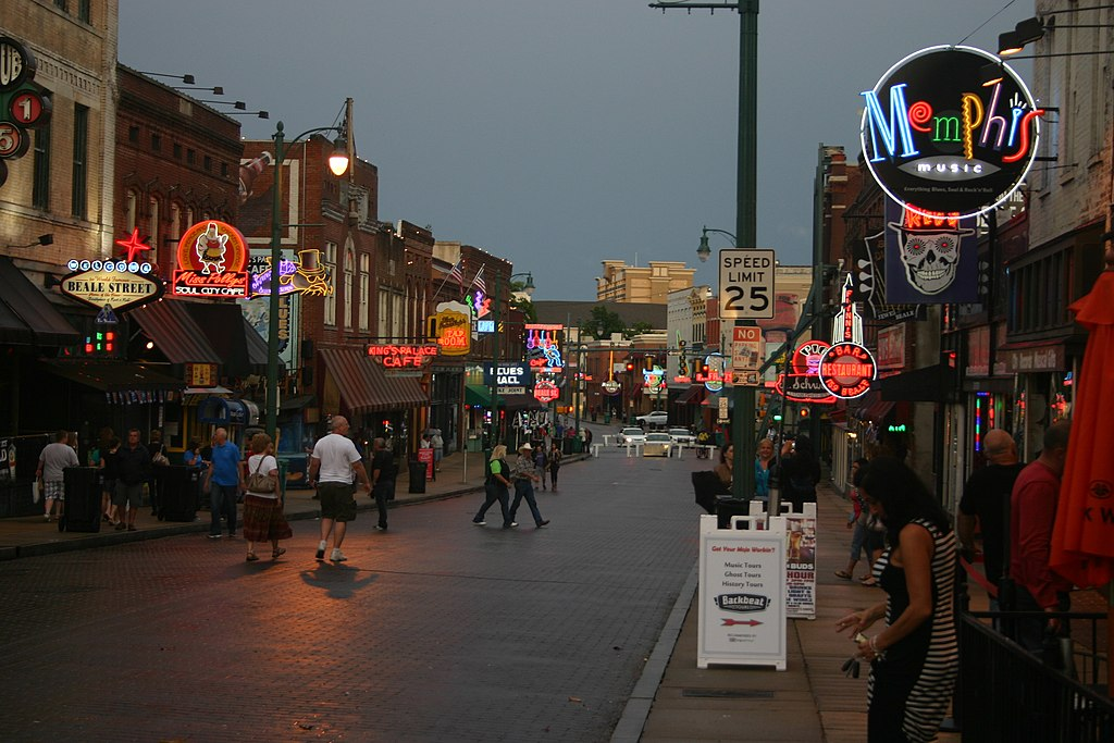 Beale Street clubs will host the competition