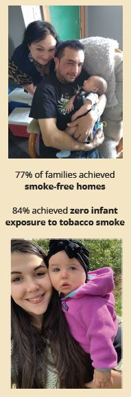 Families with healthy babies